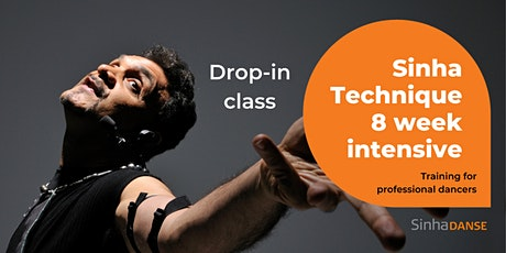 Day 8-Sinha Technique 8 week Intensive-Contemporary dance for professionals tickets