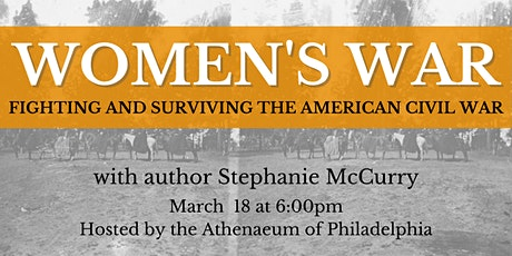 Women's War: Fighting and Surviving the American Civil War tickets