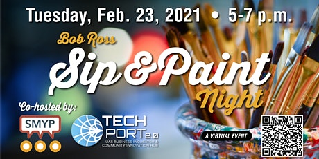 Sip and Paint Night with TechPort and SMYP tickets