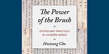 Book Talk Series on Chosŏn Korea, Epistolary Revolution in Chosŏn Korea tickets