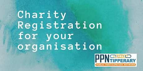 Charity Registration for your organisation tickets