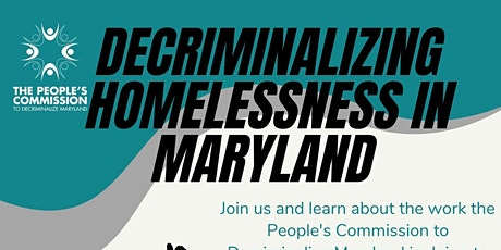 Decriminalizing Homelessness in Maryland tickets