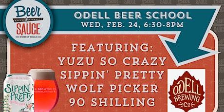 Odell Beer School tickets