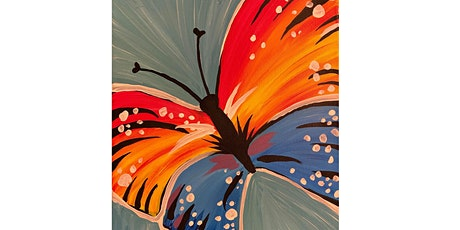 VIRTUAL PAINT NITE - Colorful Butterfly tickets