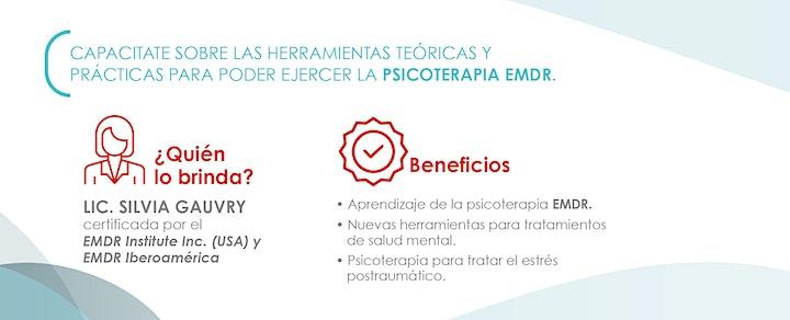Imagen de Entrenamiento en la Psicoterapia de Reprocesamiento EMDR (Curso Online)