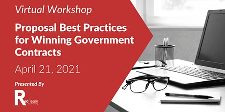Proposal Best Practices for Winning Government Contracts tickets