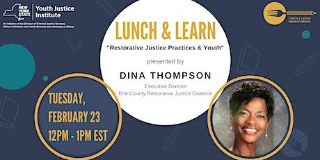 YJI Lunch & Learn Webinar with Dina Thompson tickets