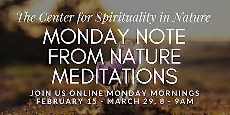 Monday Note Meditations tickets