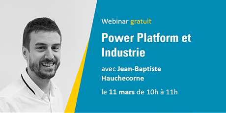 Devolis - Webinar Power Platform et Industrie billets