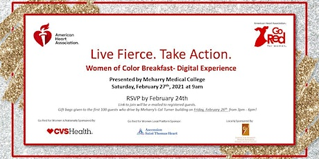 The 9th Annual Go Red Women of Color Breakfast tickets