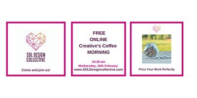 Online Creative's Coffee Morning: Price Your Work Perfectly