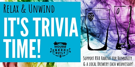 Habitat Hosts TRIVIA Night tickets