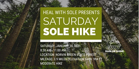Heal with Sole Guided Hike - Norvin Green State Forest tickets