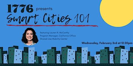 Smart Cities 101 tickets