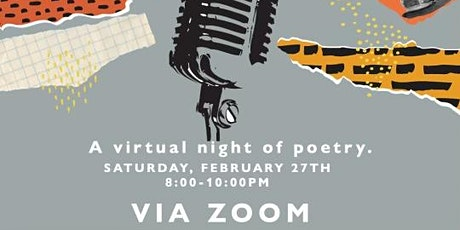 Gang Poetry - Virtual Poetry Night tickets