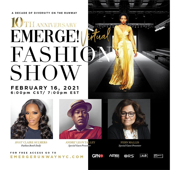 EMERGE! Virtual Fashion Show - New York Fashion Week 2021 image