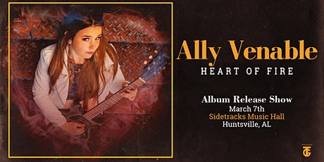 "Ally Venerable Band ""Heart Of Fire"" Album release party tickets"