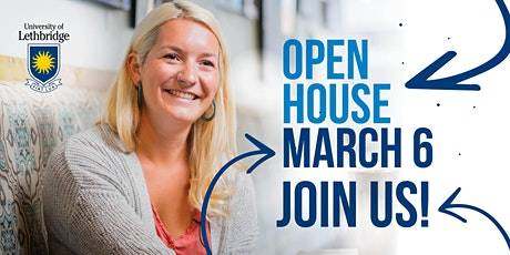 uLethbridge Virtual Open House - Spring 2021 biglietti
