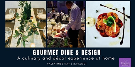 Gourmet Dining & Design: A Virtual Culinary and Décor Experience tickets