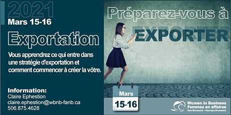 Atelier Stratégie d'exportation- Export Strategy Workshop tickets