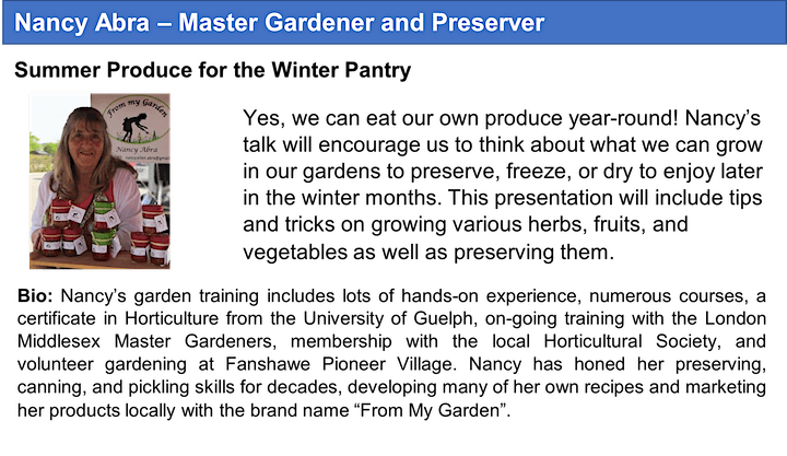 London Middlesex Master Gardeners' Seedy Saturday Festival & Marketplace image