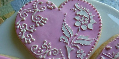 Valentines Day Sugar Cookie Decorating Class at Soule' Studio tickets