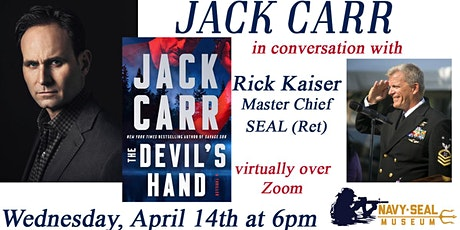 Jack Carr in conversation with Rick Kaiser Master Chief SEAL (Ret) tickets