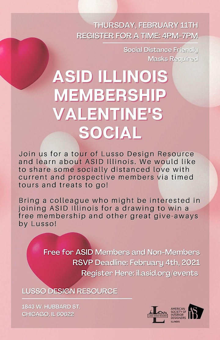 ASID Illinois Valentine's Social at Lusso image