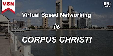 Virtual Speed Networking in Corpus Christi tickets