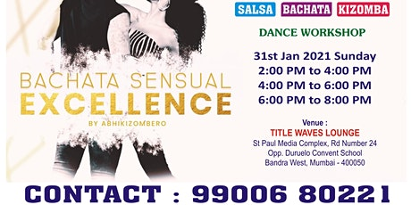 FREE SALSA BACHATA KIZOMBA Dance Workshop at BANDRA tickets