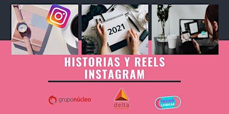 Curso de Historias y Reels de Instagram por Tecnológicas® ingressos
