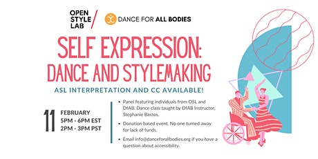Self Expression: Dance and Stylemaking tickets