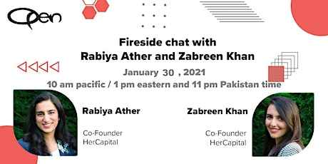 Fireside Chat with Founders of HerCapital tickets