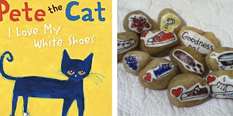 FACEBOOK VIDEO Story Stones Craft Kit with Melissa - Pete the Cat tickets