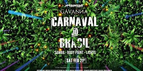 Carnaval Do Brasil at Gavanna tickets