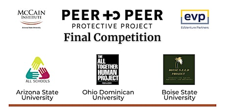 Peer-to-Peer Protective Project Final Competition tickets