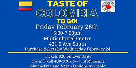 Taste of Colombia To Go! tickets