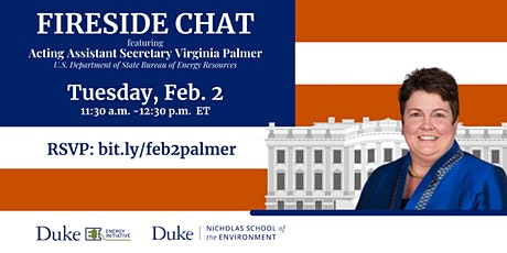 Fireside Chat with Ambassador Virginia Palmer tickets