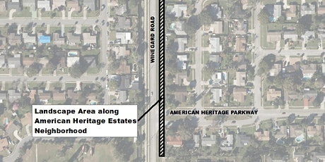 American Heritage Estates Community Meeting - Winegard Road Beautification tickets