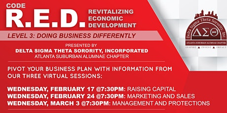 Code R.E.D.: LEVEL 3-DOING BUSINESS DIFFERENTLY tickets