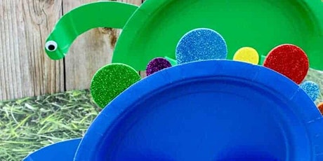 ZOOM Craft Kit Songs & Stories  with KIERA - Dinosaur Plates! tickets