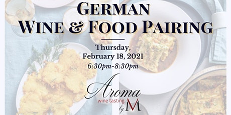 Taste of Germany at Aroma Wine Tasting tickets