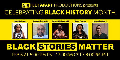 Black Stories Matter tickets