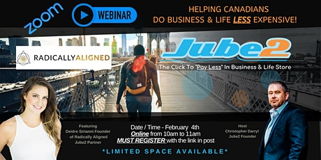 Inside look at Jube2's partners that save your business time and money tickets