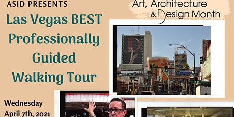 Walking tour of Downtown Las Vegas 2021 tickets