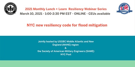 NYC new resiliency code for flood mitigation tickets