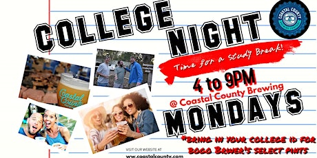 College Night tickets