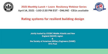 Rating systems for resilient building design tickets