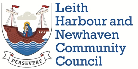 Leith Harbour & Newhaven Community Council January 2021 meeting tickets