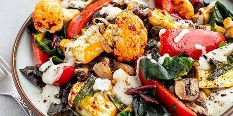 Roasted Cauliflower and Pepper with Rainbow Chard, Shallots and Mushrooms tickets